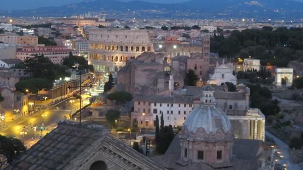 Coloseo from Vittorio