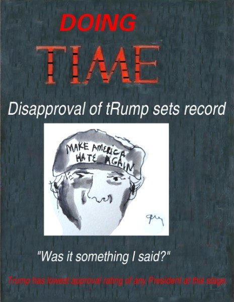 """Doing Time """"Was it something I said?"""""""