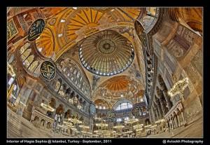 hagia sophia interior 2